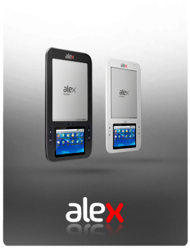 The Alex Dual Screen eReader